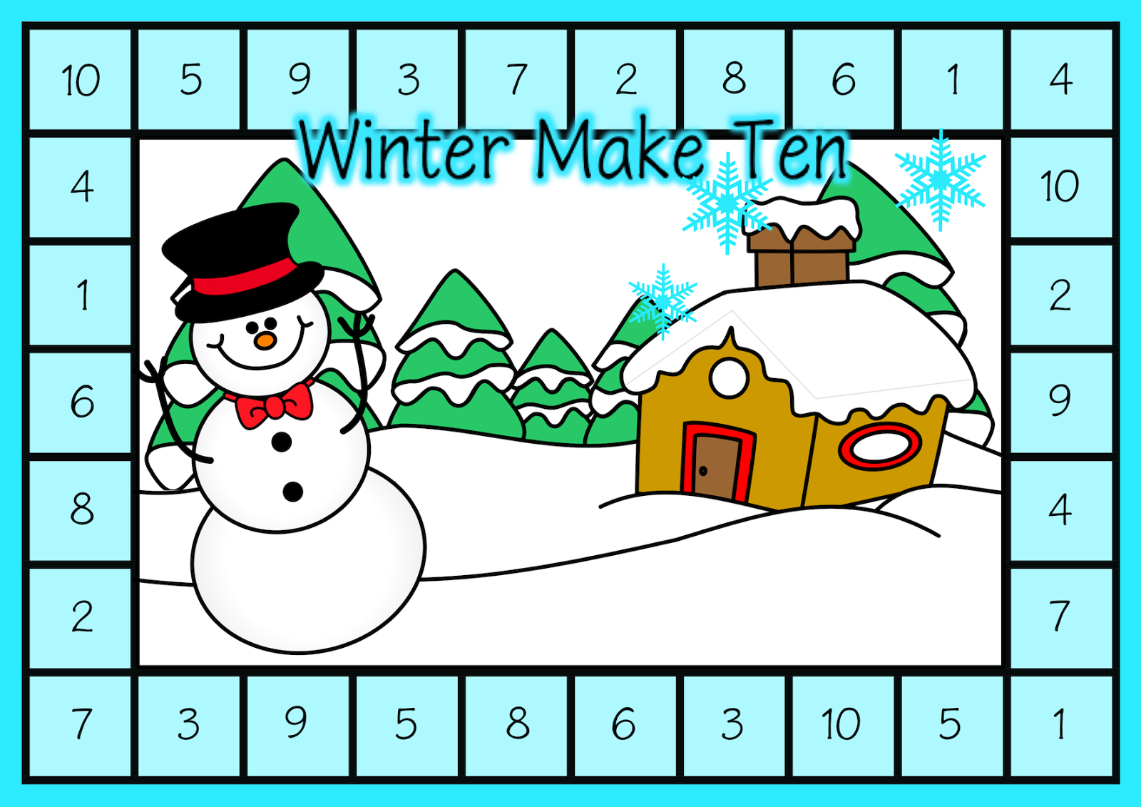 Classroom Treasures Winter Themed Addition Games