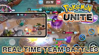 Game Pokemon Unite Moba Terbaru