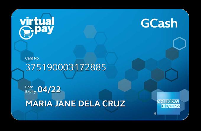 Get FREE Virtual Debit Credit Card Online with GCash