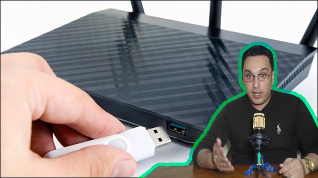 كيف تستفيد من منفذ USB في جهاز الروتر الخاص بك ؟