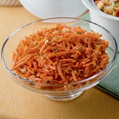 Crunchy Carrot Salad Recipe