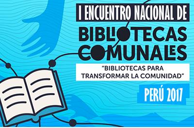 Encuentro Nacional de Bibliotecas Comunales