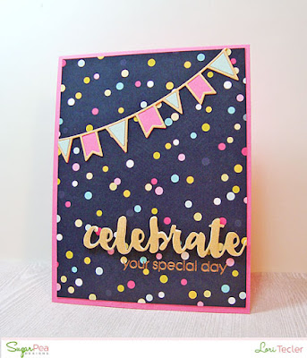 Celebrate Your Special Day card-designed by Lori Tecler/Inking Aloud-stamps and dies from SugarPea Designs