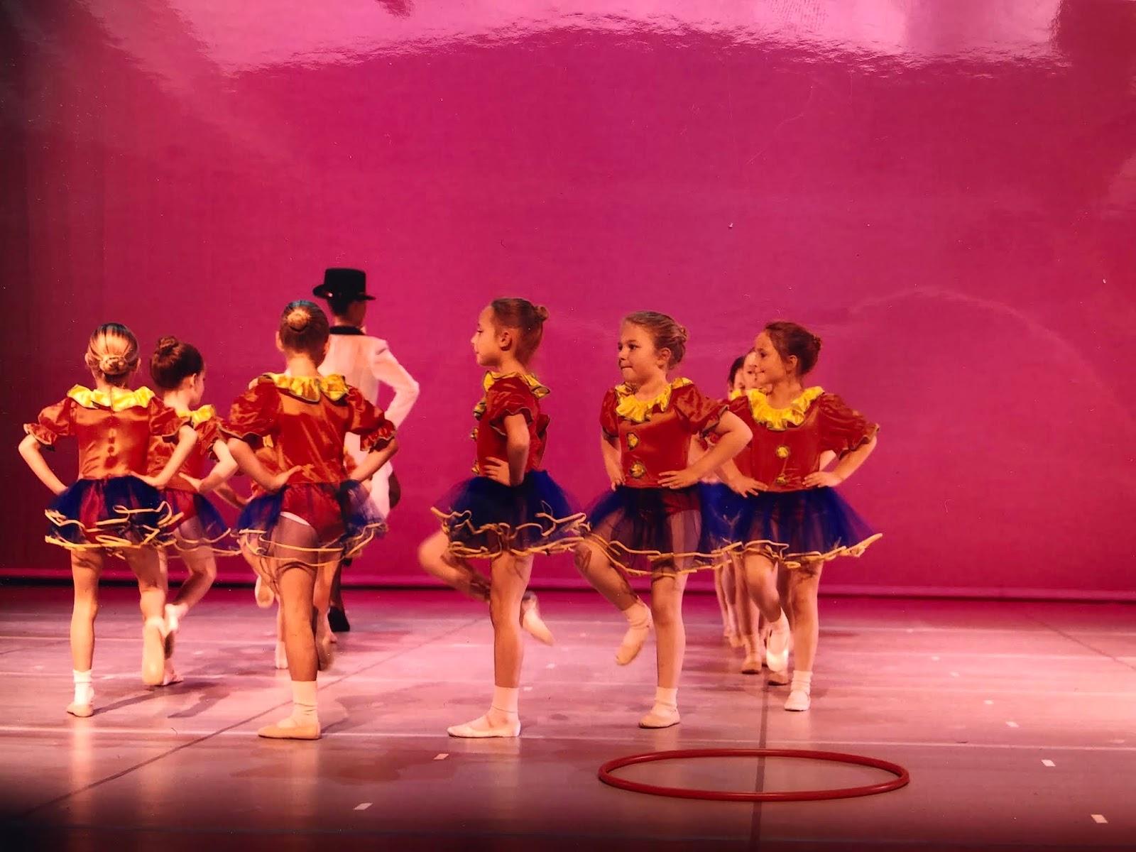 Een terugblik op de balletshow waar ik als jong meisje aan heb meegedaan.