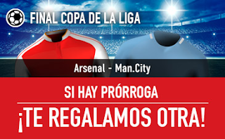 sportium promocion Arsenal vs City 25 febrero