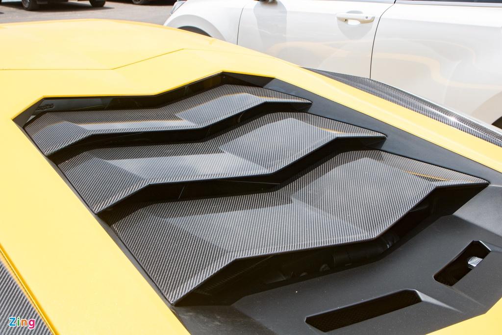 Lamborghini Aventador S độc nhất VN lột xác với gói độ 70.000 USD