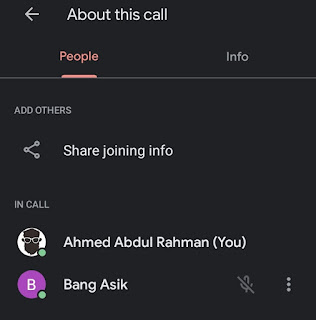 mute someone on google meet is done