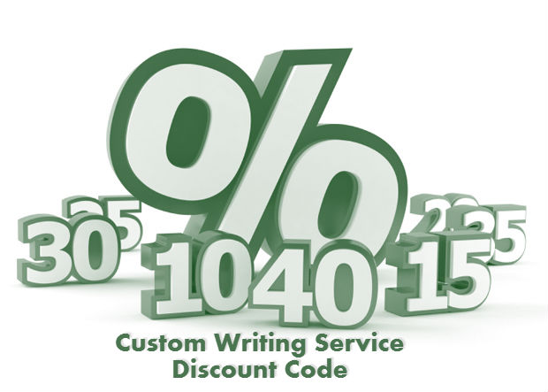 Custom Writing Service Discount Code