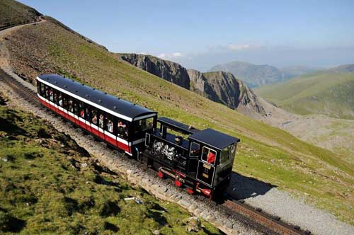 Snowdon Mountain Railway, Wales.