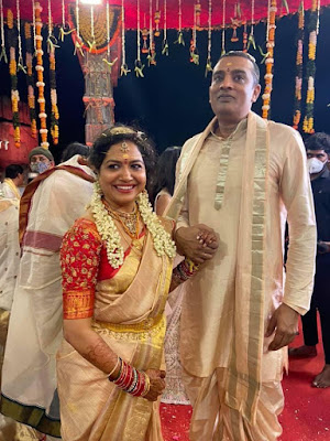 Sunitha Singer Marriage Photos