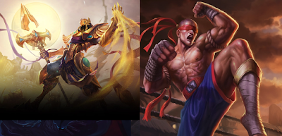 Azir ve Lee sin ikilisi