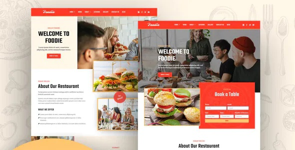 Best Fast Food Elementor Template Kit