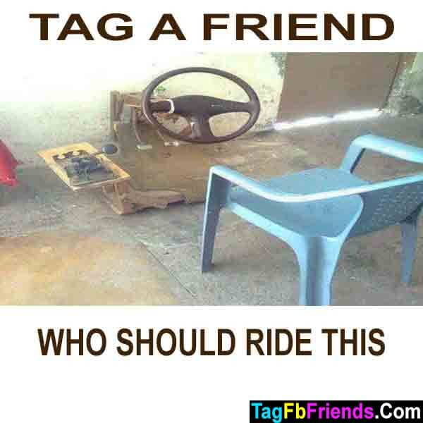 Tag a friend who must ride this