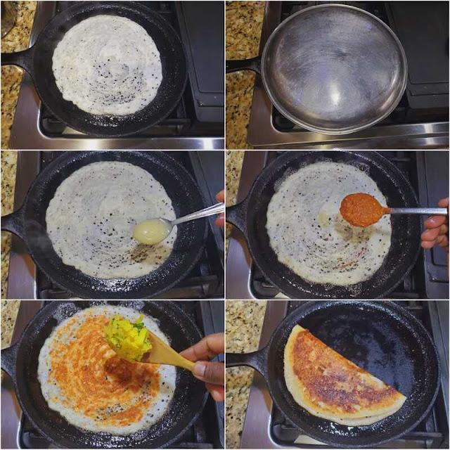 images of Ghee Roast Dosa Recipe / Tuppa Dosa Recipe / Bisi Bisi Tuppa Dosa / Thuppa Dosa / Ney Dosa - Dosa Recipes
