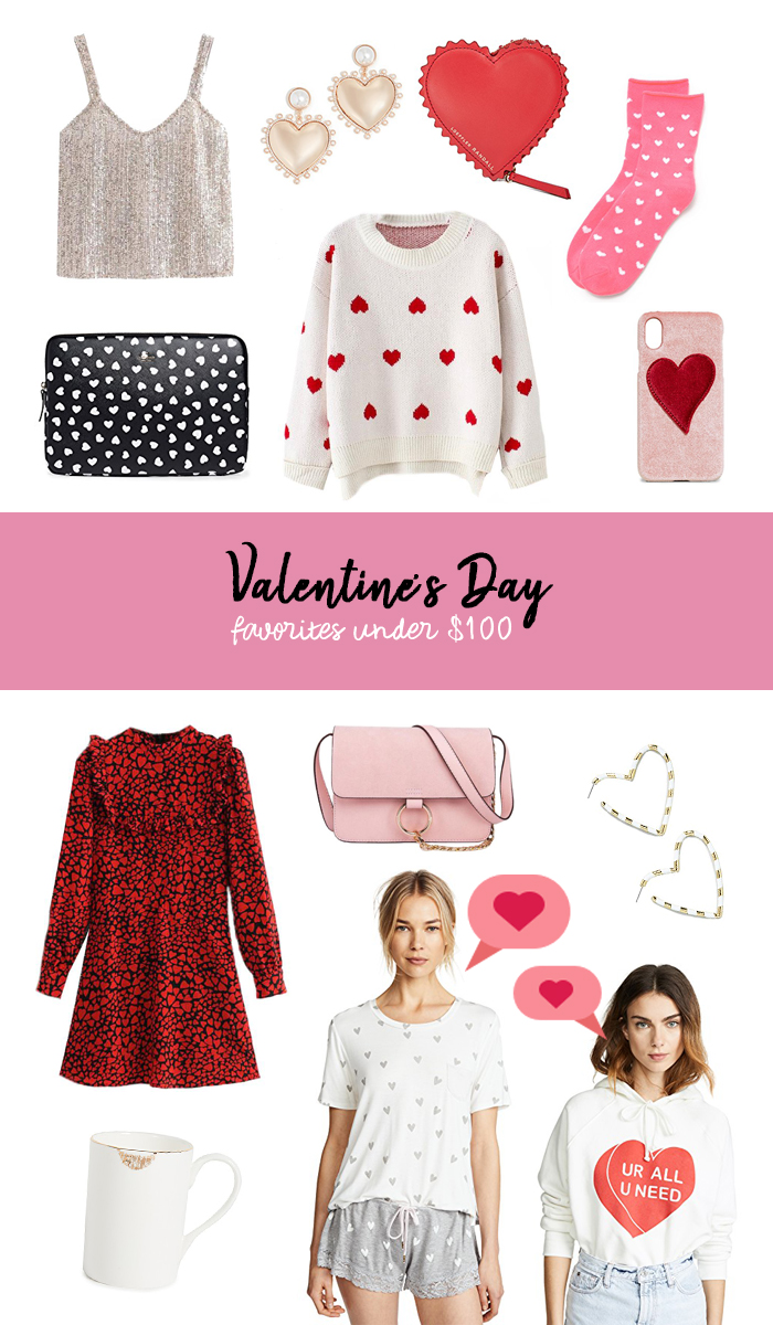 valentines day favorites under $100