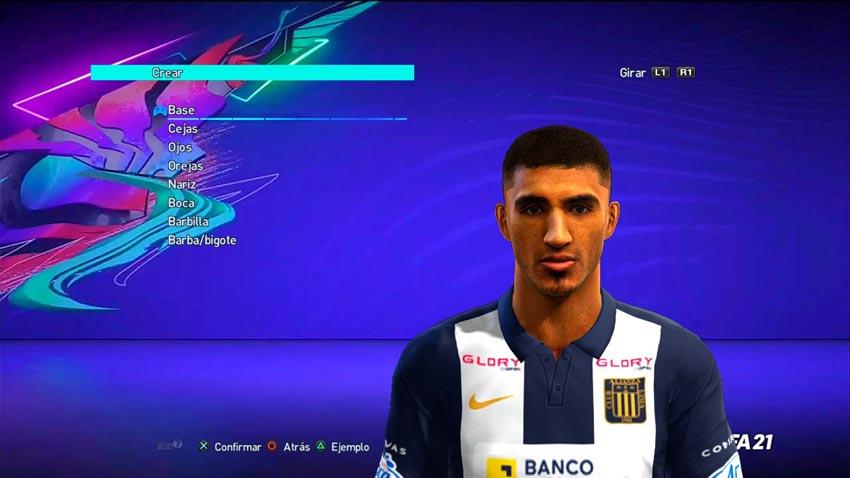 Josepmir Ballón Face For PES 2013