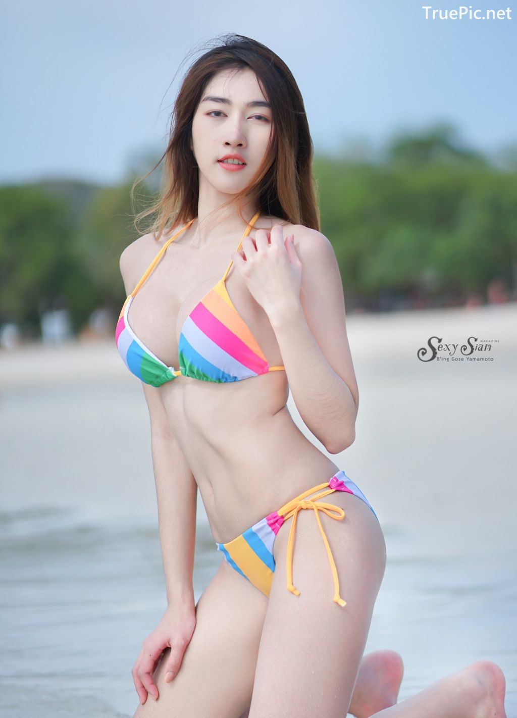 Image-Thailand-Hot-Model-Nisa-Khamarat-Bikini-For-Songkran-Festival-TruePic.net- Picture-4