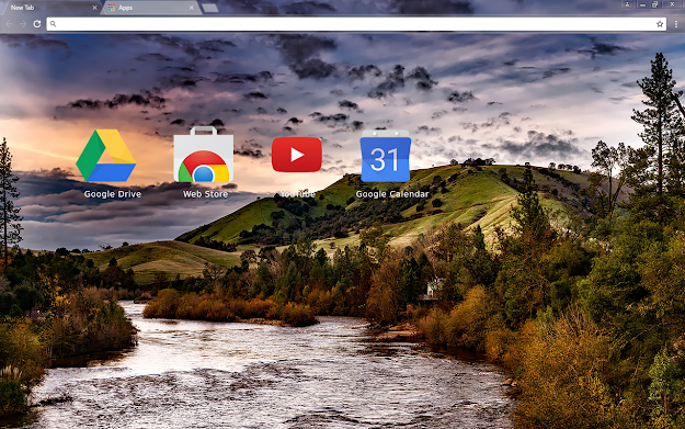 American River Chrome Theme