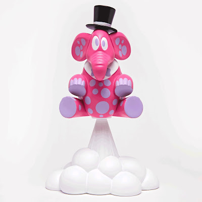NTWRK Exclusive Ting Tipsy Edition Vinyl Figure by Sket One x 3DRetro
