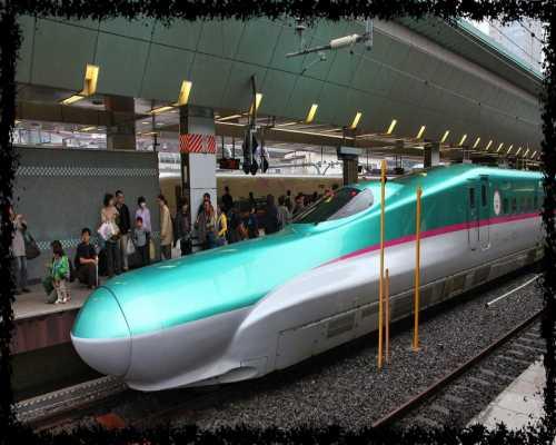 قطار الرصاصة في اليابان