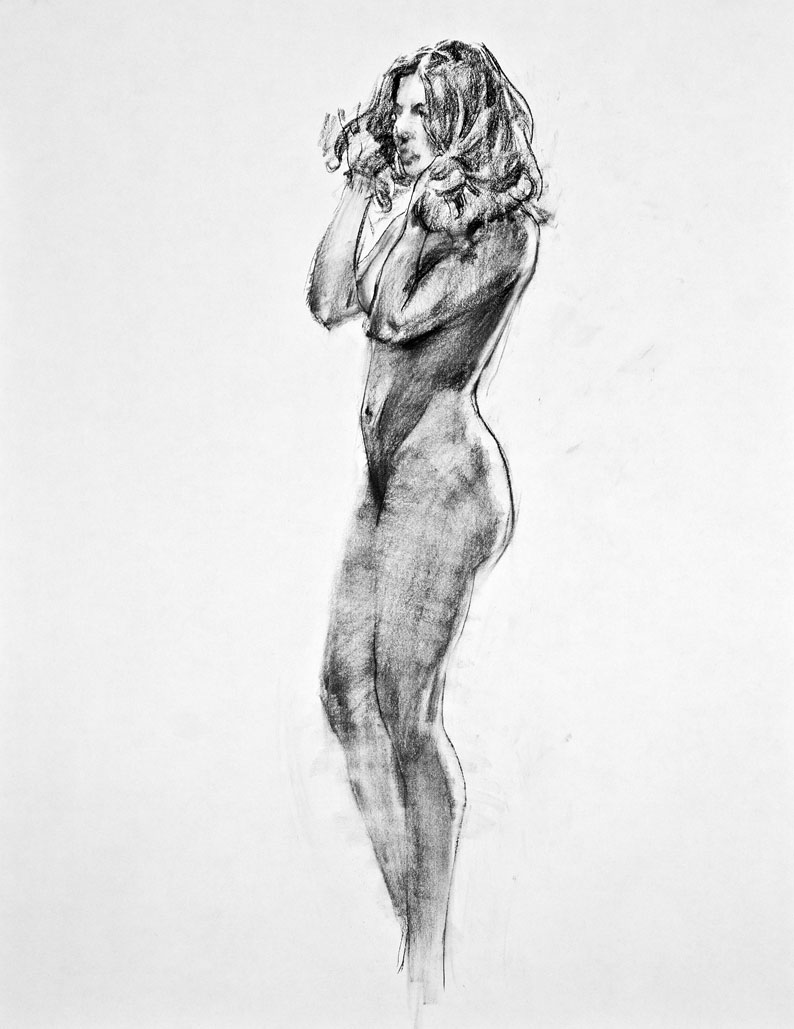 The main loop figure drawing a lonely pencil