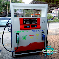 pertamini pom mini digital 2 nozzle murah