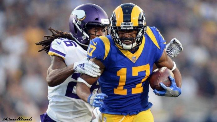 American Football_Rams wide receiver parliamentarian Woods returns to the team, status vs. Ravens in Week twelve remains unsure