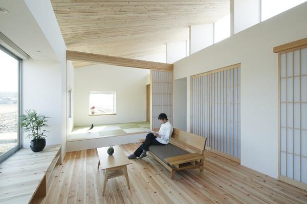 มุมพักผ่อนในบ้านแบบญี่ปุ่น