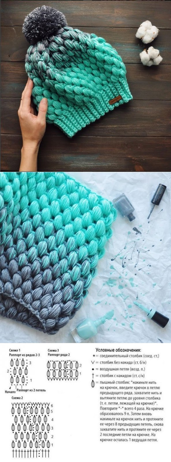 DIY Rajut Motif Melati