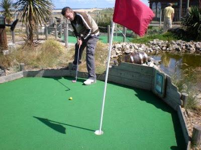 Smuggler's Cove Adventure Golf at South Shields, Tyneside