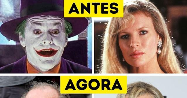 Como estão os protagonistas da saga Batman dos anos 1990