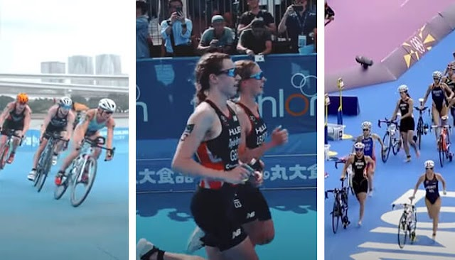 14 Weird rules Female Olympic Triathletes have to follow