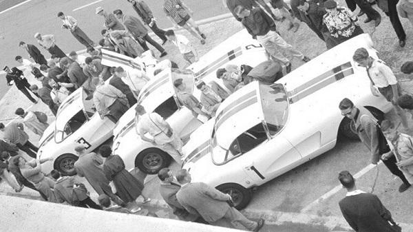 Corvette Cunningham Le Mans 1960