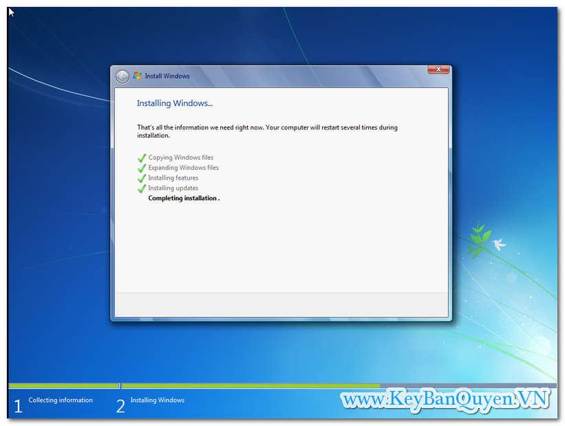 Hướng dẫn cài đặt Windows 7 theo chuẩn UEFI - GPT mới nhất.