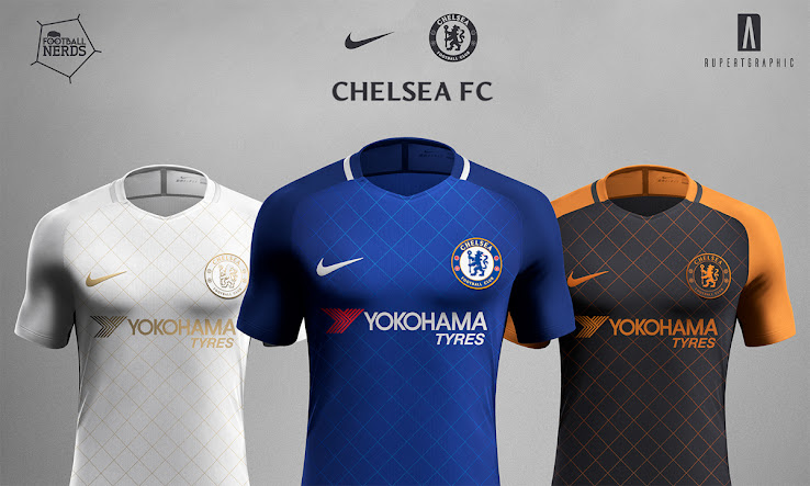 size 40 b869b 3a096 Unique Nike Chelsea 17-18 Concept Kits Revealed - Footy ...