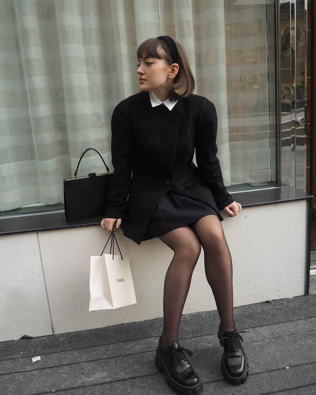 We Love These Chic School Girl-Inspired Outfits — Laurence Fortin-Côté Street Style
