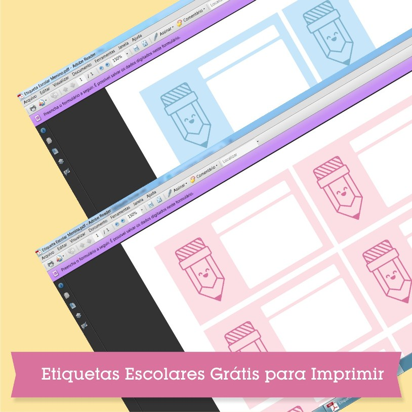 etiqueta escolar grátis imprimir