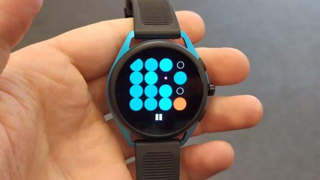 memakai smartwatch musik offline os