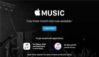 image of apple music free trial