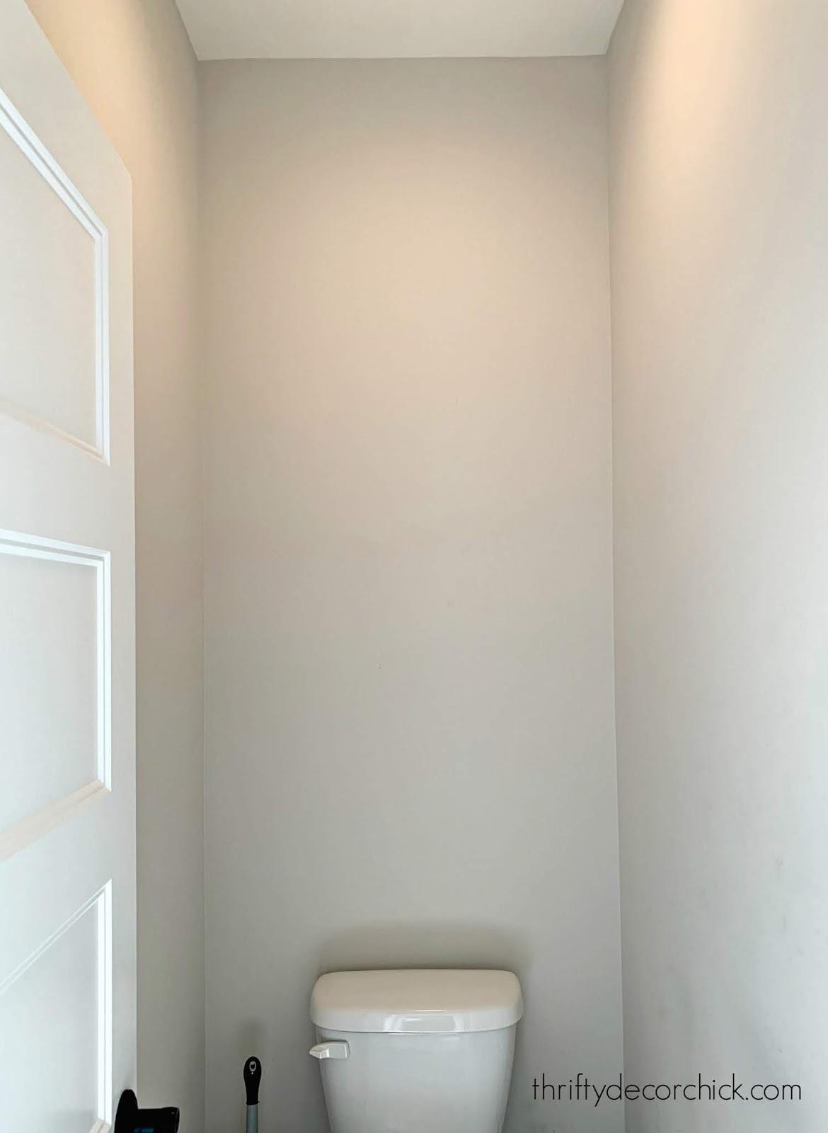 adding shelves above toilet