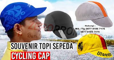 Topi Sepeda, Cycling Cap, Topi Sepeda (Empat Panel), Grosir sepeda gunung topi