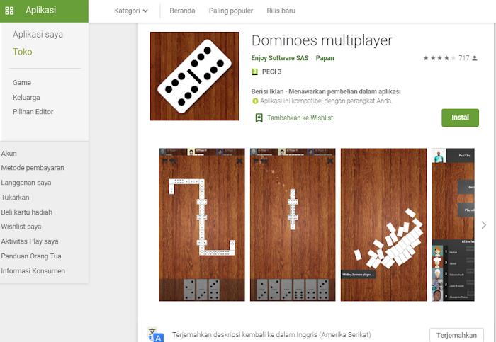 Aplikasi Game Domino yang Seperti Bermain di Dunia Nyata