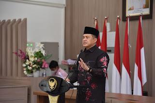 Bupati Batu Bara Sampaikan SPPT PBB-P2 dan DHKP Tahun 2021