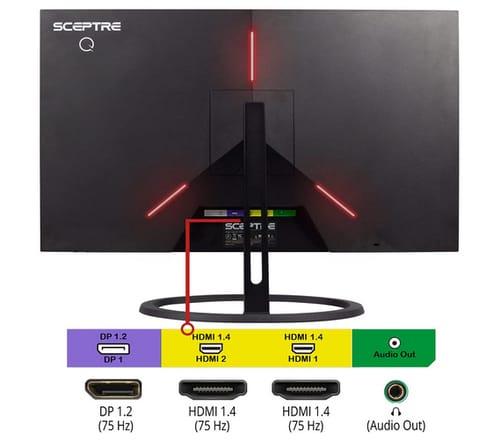 Sceptre E275W-QPT IPS 27 Inch 2K QHD 75Hz Monitor