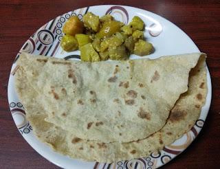 Halasin hannina chapati / jack fruit roti