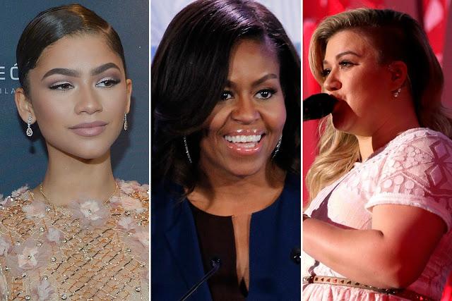 Zendaya, Kelly Clarkson y otras celebridades cantan canción sobre el poder femenino con Michelle Obama.