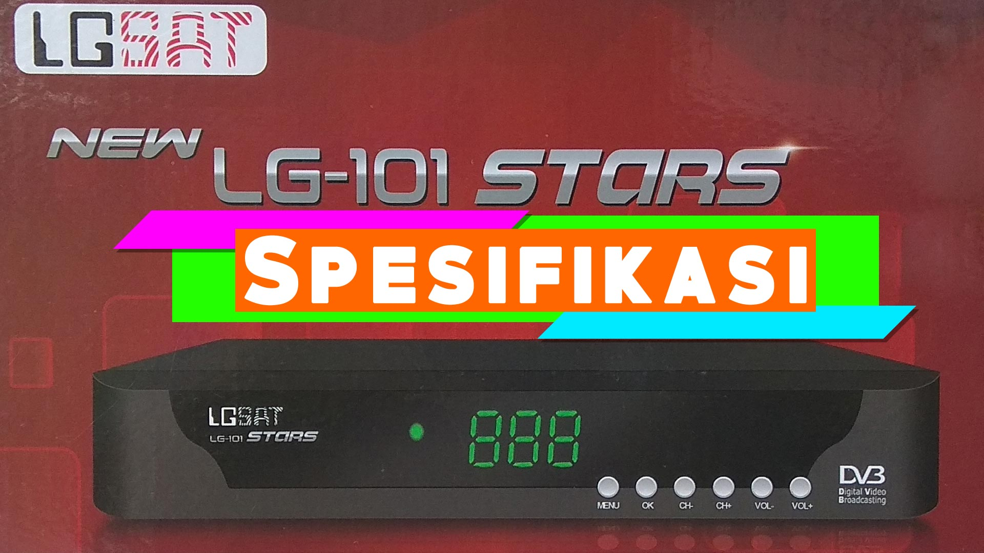 Harga Spesifikasi Receiver LGsat Star 101 HD New GuoXin