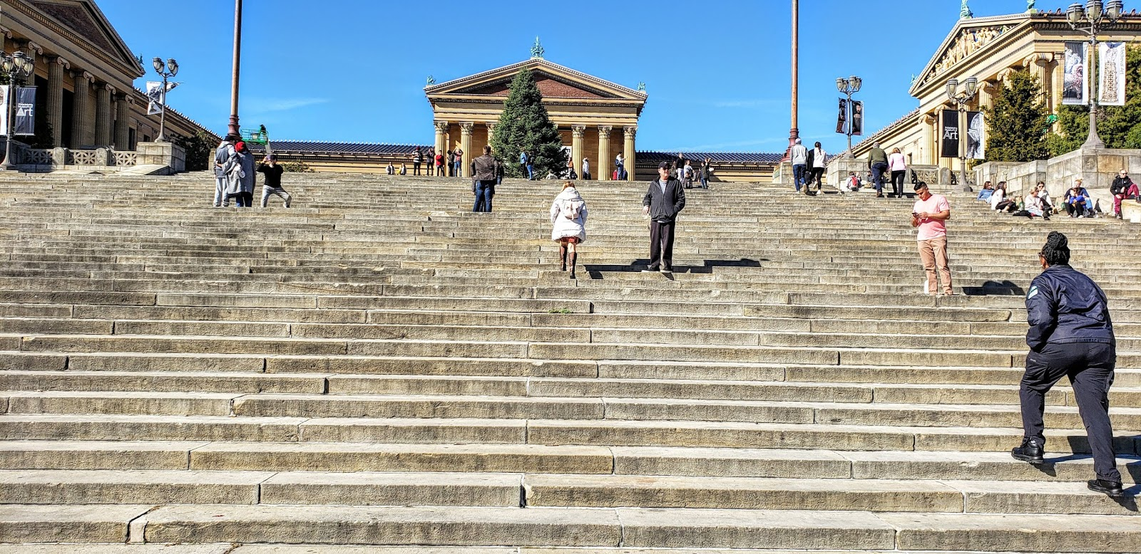 Rocky Steps, Philadelphia Museum of Art