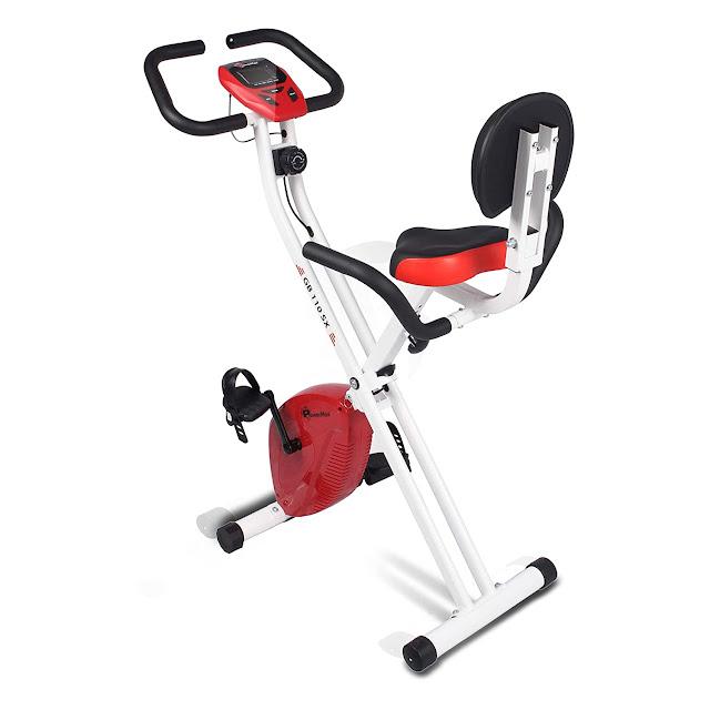 Powermax Fitness Bx- 110sx Bike with Backrest