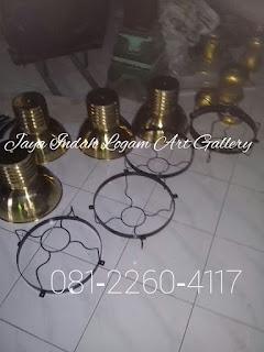 Lampu Gantung Tembaga serta Kuningan  | kerajinan tembaga dan kuningan | kerajinan logam boyolali